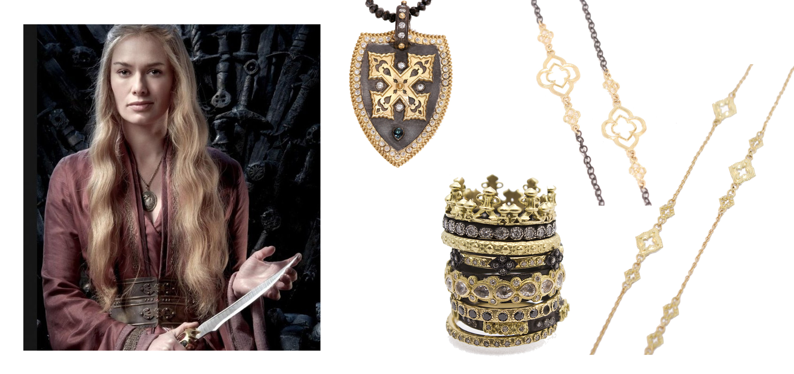 Five Jewelry Looks Inspired By Game Of Thrones