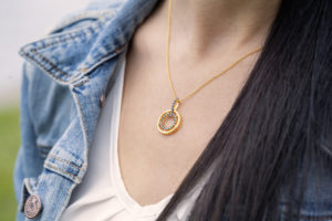 Shop Yellow Gold Necklaces