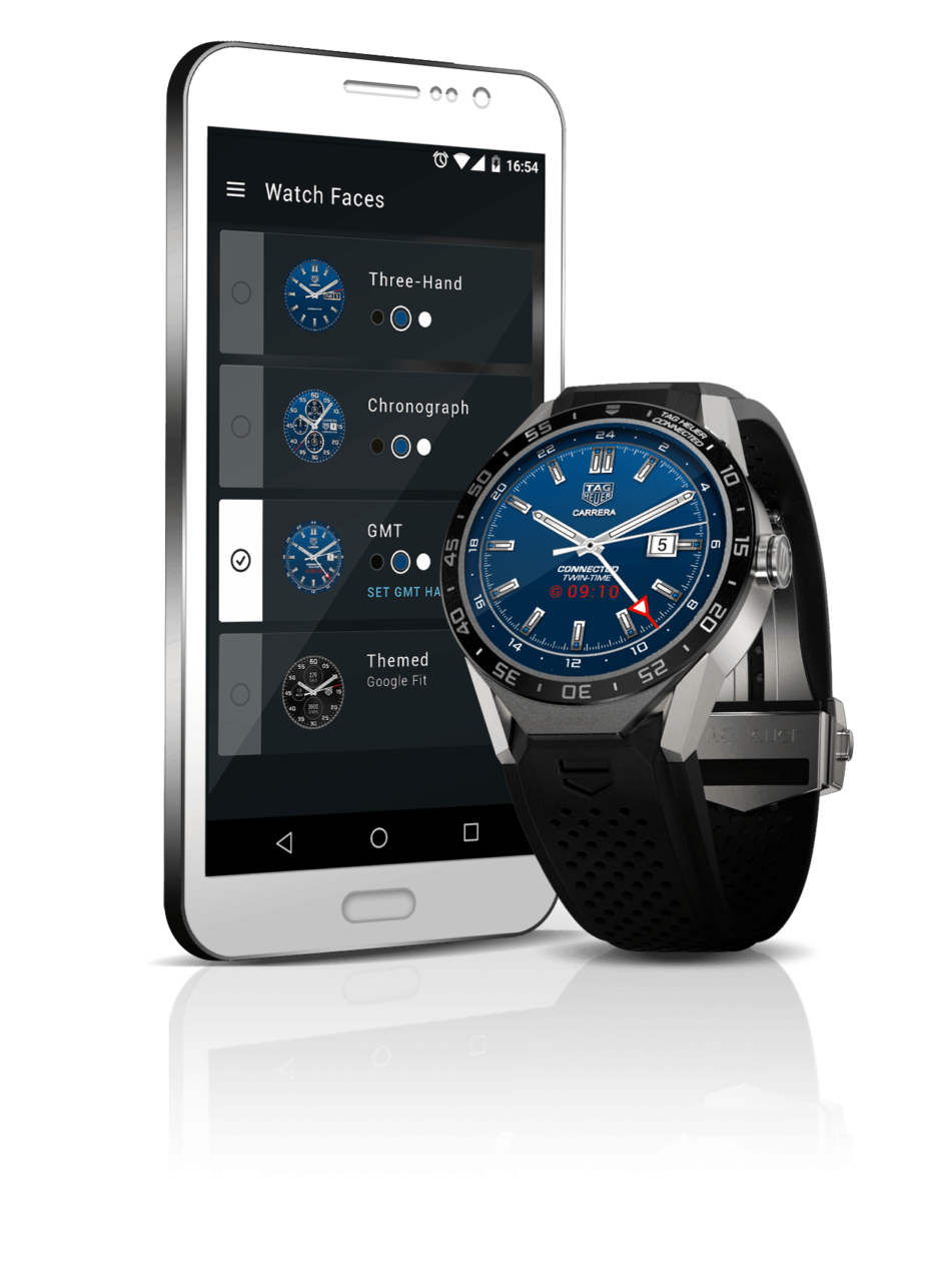 The TAG Heuer Connected Watch. The first luxury watch brand to delve into the dark arts of smart watches