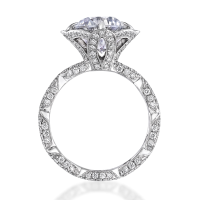 traditional engagement rings by katharine james